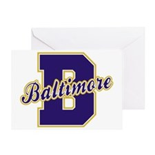Baltimore Letter Greeting Card