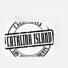 Catalina Island Title Greeting Card