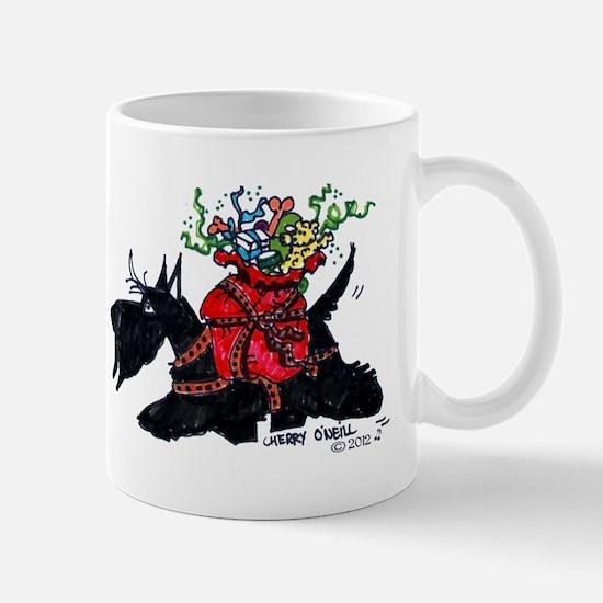 Scotttie Santas Helper Mug