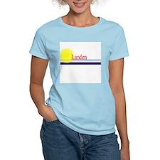 Landen Women's Pink T-Shirt