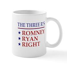 Three R's Romney Ryan Right Mug