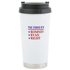 Three R's Romney Ryan Right Travel Mug