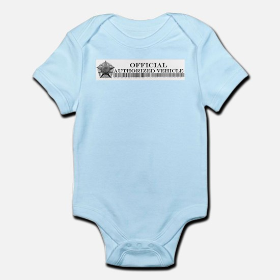 Official Authorized Vehicle Infant Bodysuit