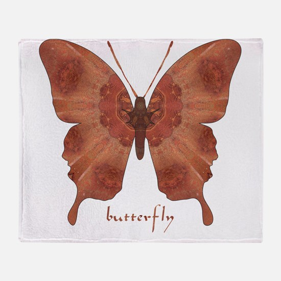 Beloved Butterfly Throw Blanket