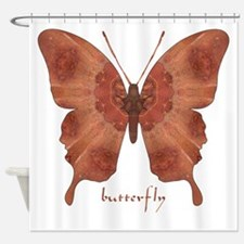Beloved Butterfly Shower Curtain