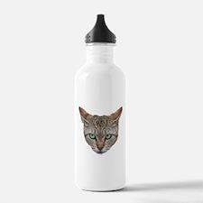 FACE01 Cat face Water Bottle