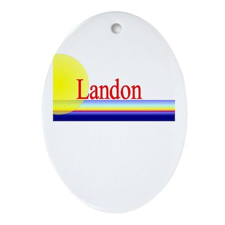 Landon Oval Ornament