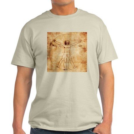 Vetruvian Man Light T-Shirt