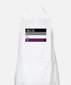 Asexuality Ally Flag Apron