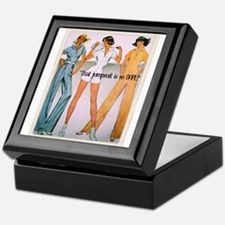 Jumpsuit Keepsake Box