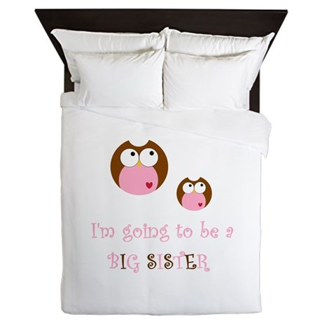 Big Sister Owl Queen Duvet