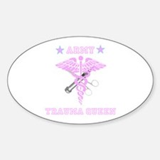 Army Trauma Queen Decal