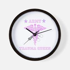 Army Trauma Queen Wall Clock