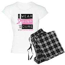 Pink Cure Breast Cancer Pajamas