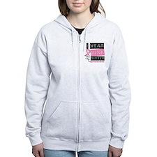 Pink Sister Breast Cancer Zip Hoodie