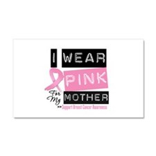 Pink Mother Breast Cancer Car Magnet 20 x 12