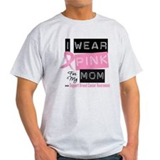 Pink Mom Breast Cancer T-Shirt