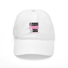 Pink Mom Breast Cancer Baseball Cap