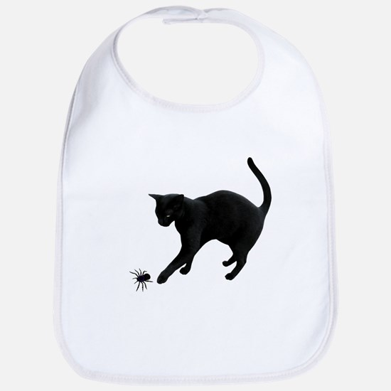 Black Cat Spider Bib