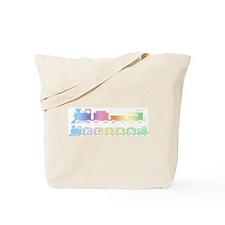 Elias Train Tote Bag