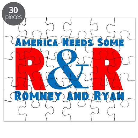 Romney Ryan Puzzle