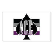 Ace Spade Decal