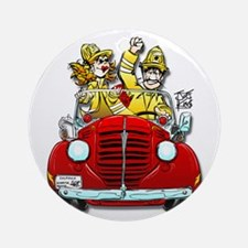 """THAT FIREMAN GUY/GAL"" Ornament (Round)"