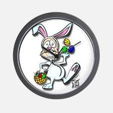 """THAT EASTER BUNNY GUY"" Wall Clock"