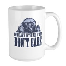 TwoClawsintheAirDontCare2.png Ceramic Mugs