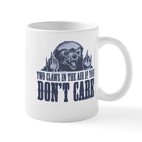 TwoClawsintheAirDontCare2.png Mug
