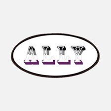 Asexuality Ally Text Patches