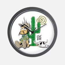 """THAT DESERT GUY "" Wall Clock"
