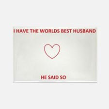 Best Husband Rectangle Magnet