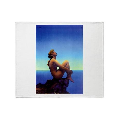 Maxfield Parrish Stars Throw Blanket