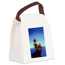 Maxfield Parrish Stars Canvas Lunch Bag