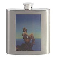 Maxfield Parrish Stars Flask