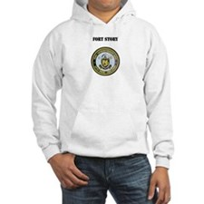 Fort Story with Text Hoodie
