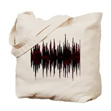 Synthesized Army Audio Wave Tote Bag