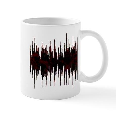 Synthesized Army Audio Wave Mug