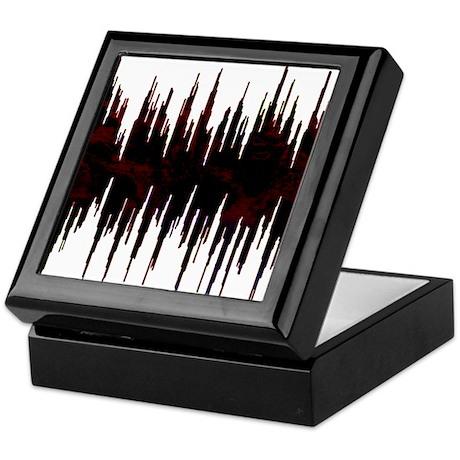 Synthesized Army Audio Wave Keepsake Box