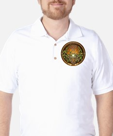 Sacred Celtic Trees - Vine Golf Shirt