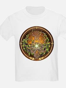 Sacred Celtic Trees - Vine T-Shirt