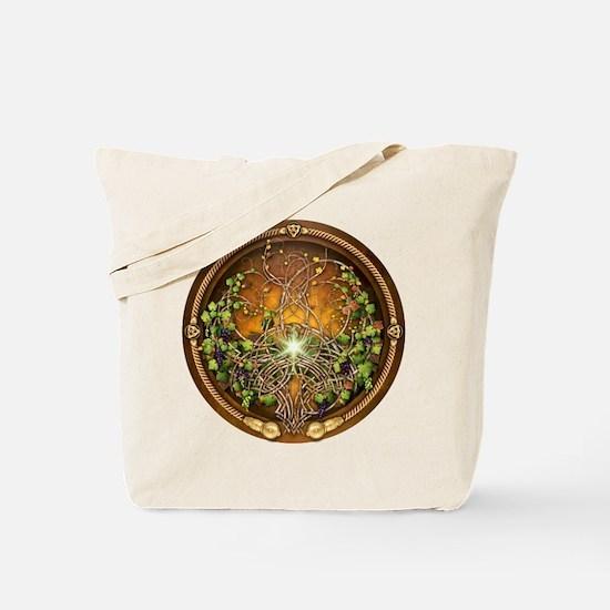 Sacred Celtic Trees - Vine Tote Bag