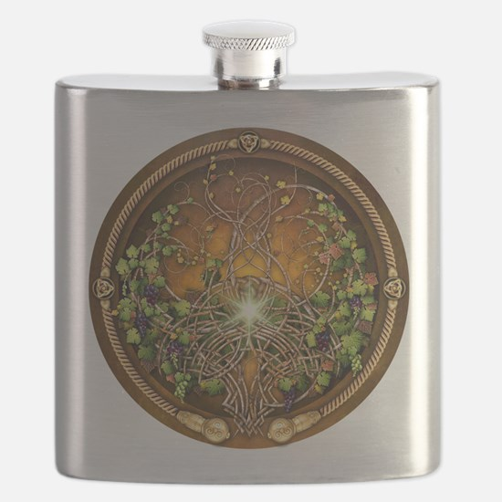 Sacred Celtic Trees - Vine Flask