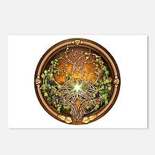 Sacred Celtic Trees - Vine Postcards (Package of 8