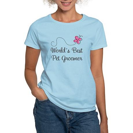 Pet Groomer (Worlds Best) Women's Light T-Shirt