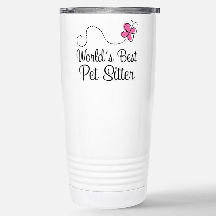 Pet Sitter (Worlds Best) Travel Mug