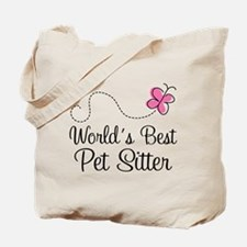 Pet Sitter (Worlds Best) Tote Bag