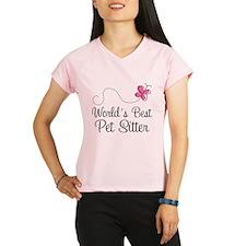 Pet Sitter (Worlds Best) Performance Dry T-Shirt