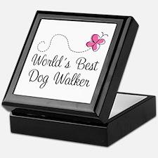 Dog Walker (World's Best) Keepsake Box